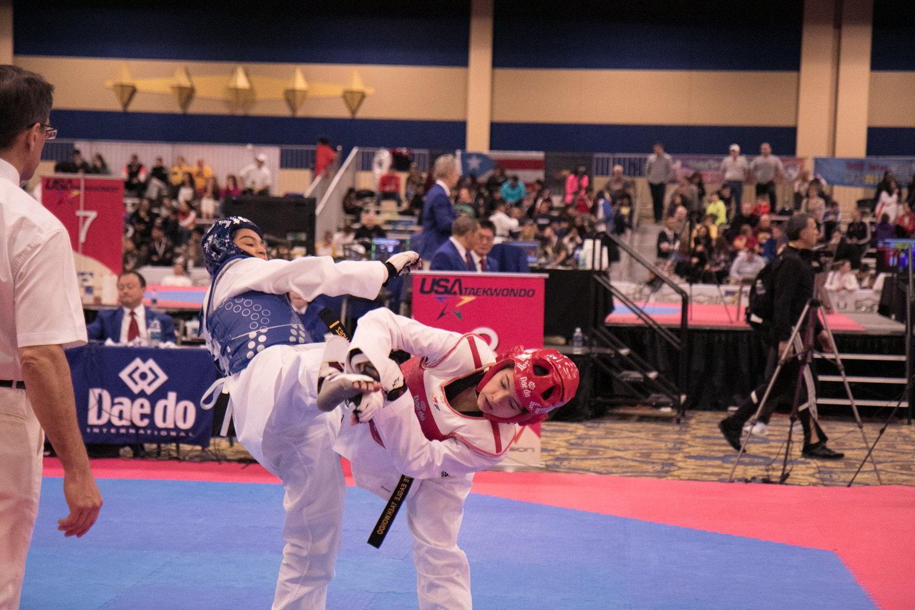 Taekwondo Sparring | Martial Arts Sparring | Spring TX